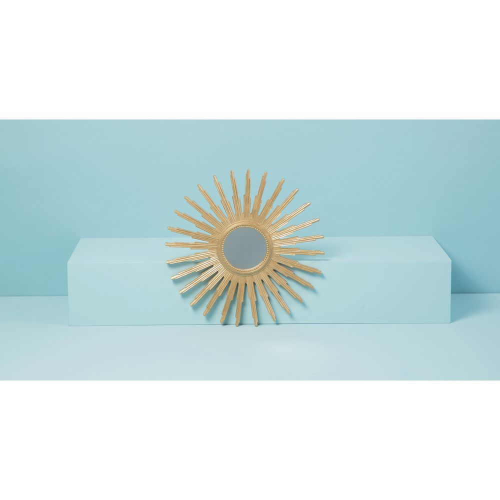Espelho Solis Cor: Ouro - Tamanho: Único