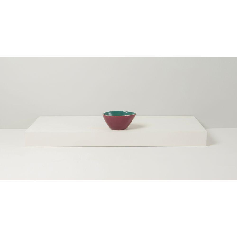 Bowl Decor Gazania Cor: Vermelho - Tamanho: Único