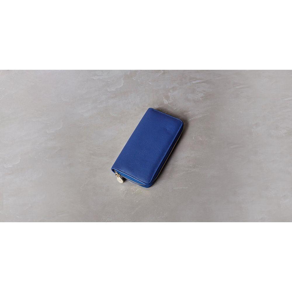 Carteira Lorena Cor: Azul - Tamanho: Único