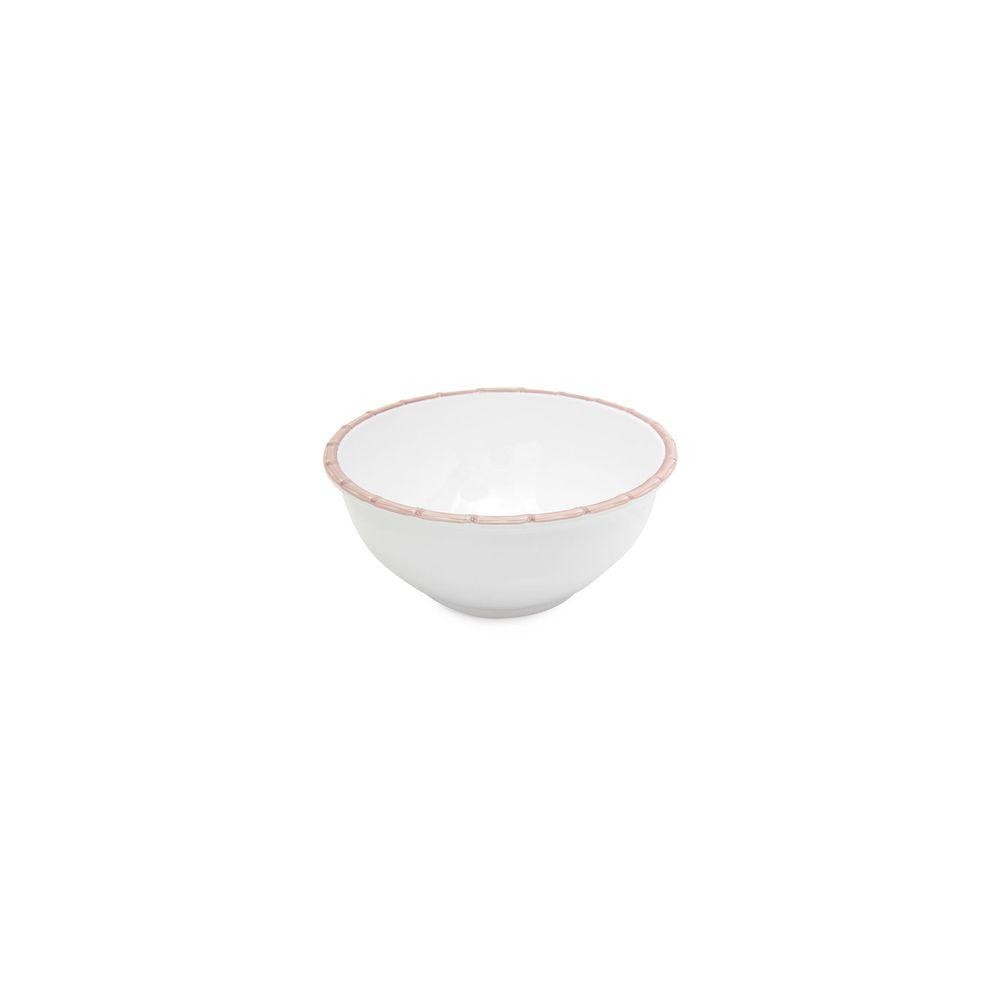 Bowl De Mesa Bamboo M Cor: Branco - Tamanho: Único