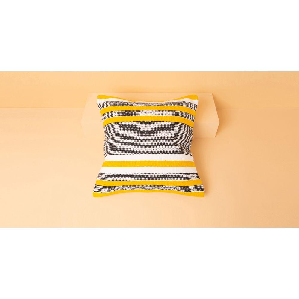 Capa De Almofada Maui Cor: Amarelo - Tamanho: Único