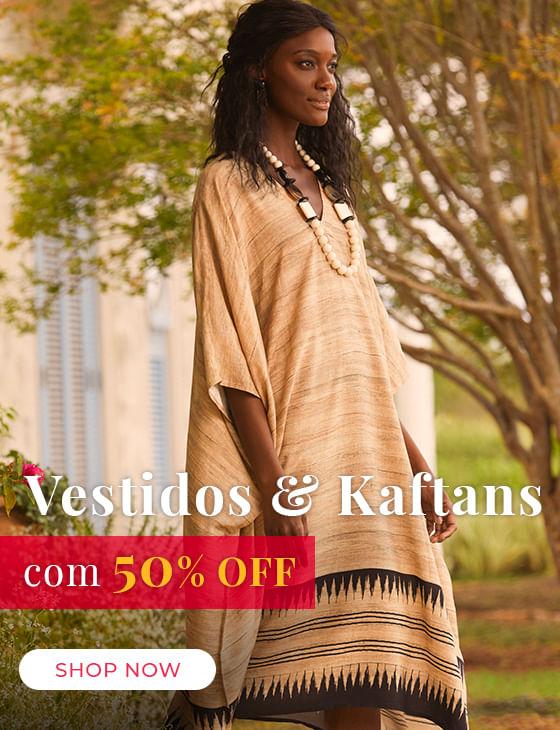 Vestidos e Kaftans 50%off