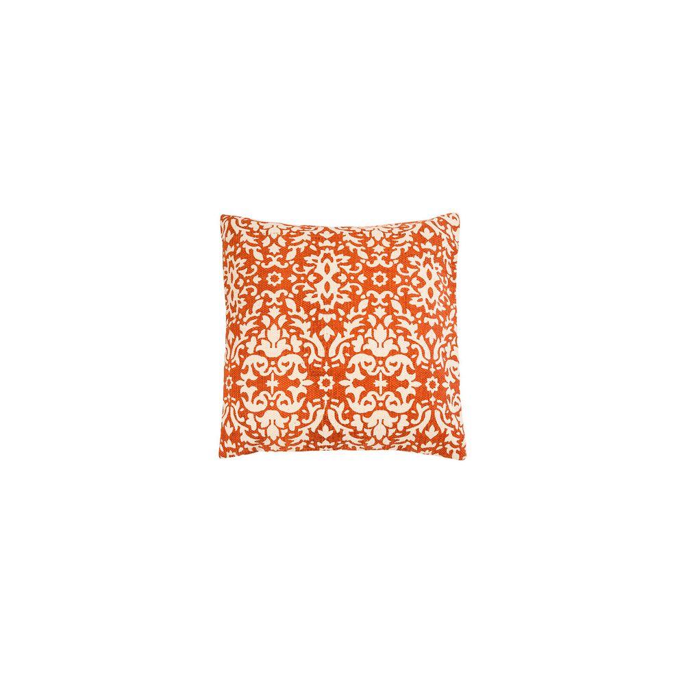 Capa De Almofada Jaipur Cor: Laranja - Tamanho: Único