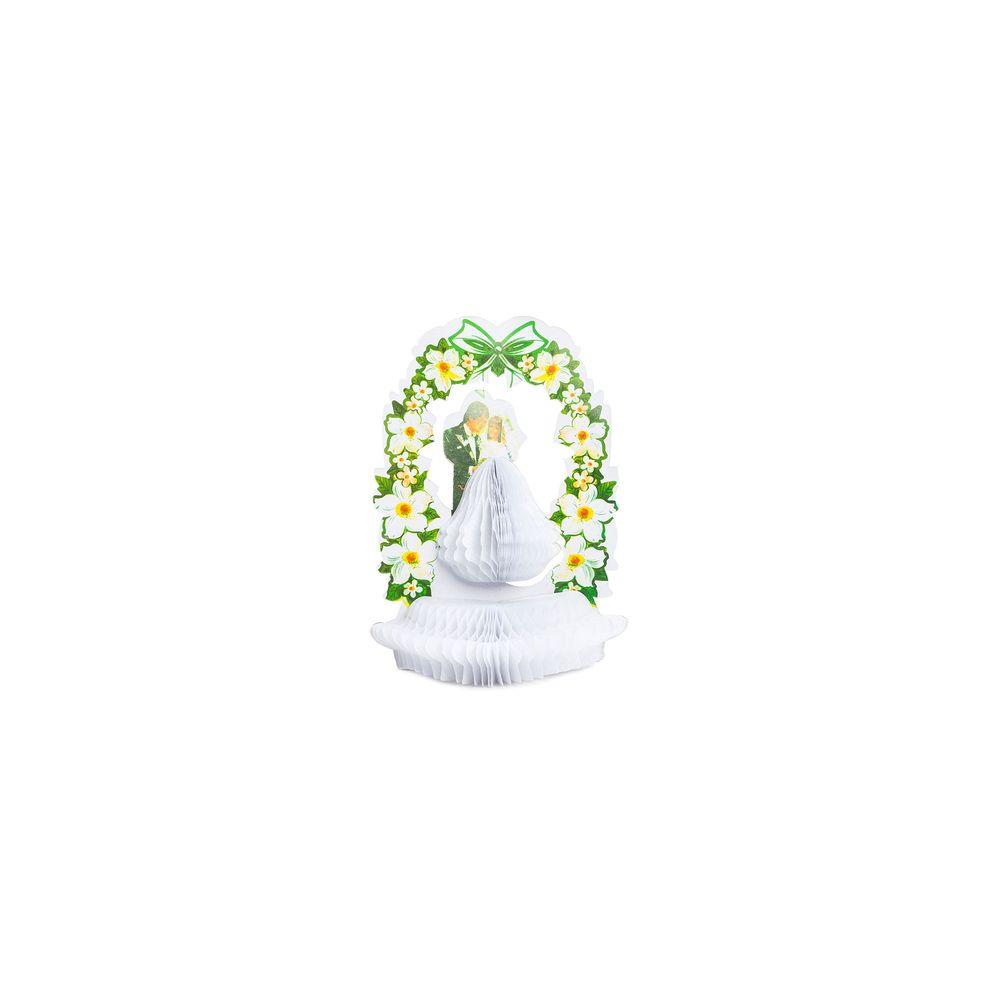Decorativo Noivos Cor: Branco - Tamanho: Único