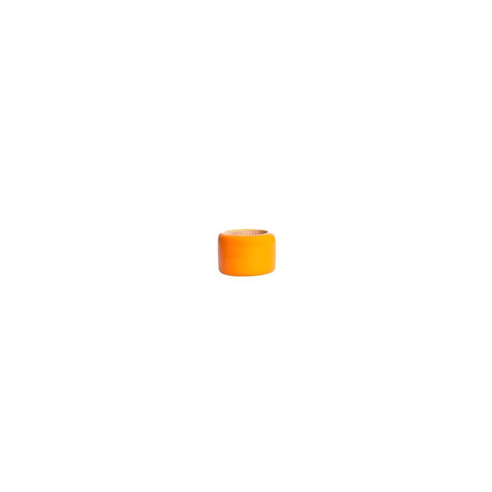 Argola De Guardanapo Leblon Cor: Amarelo - Tamanho: Único
