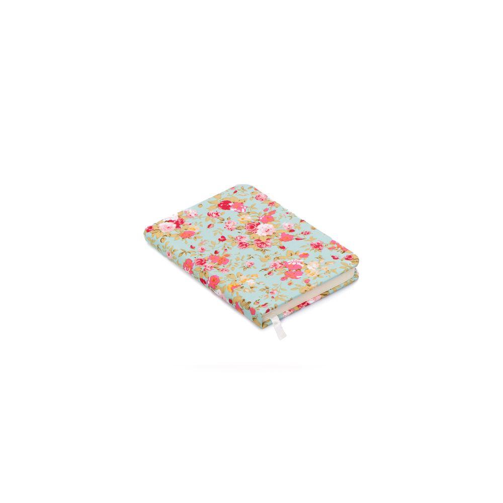 Caderno Flora Cor: Verde - Tamanho: Único
