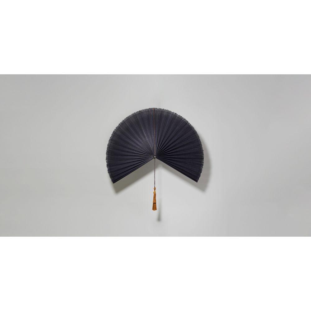 Decorativo Leque Bali Cor: Preto - Tamanho: Único