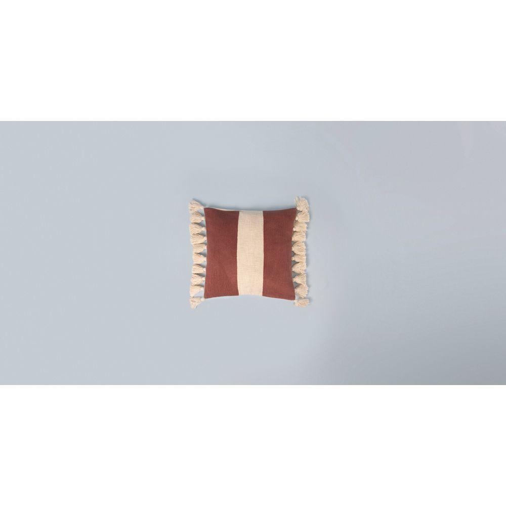 Capa De Almofada Sagar 50X50 Cor: Vinho - Tamanho: Único