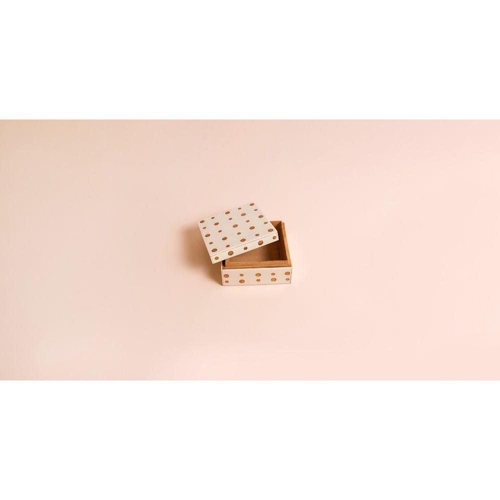 Caixa Blanca Cor: Branco - Tamanho: Único