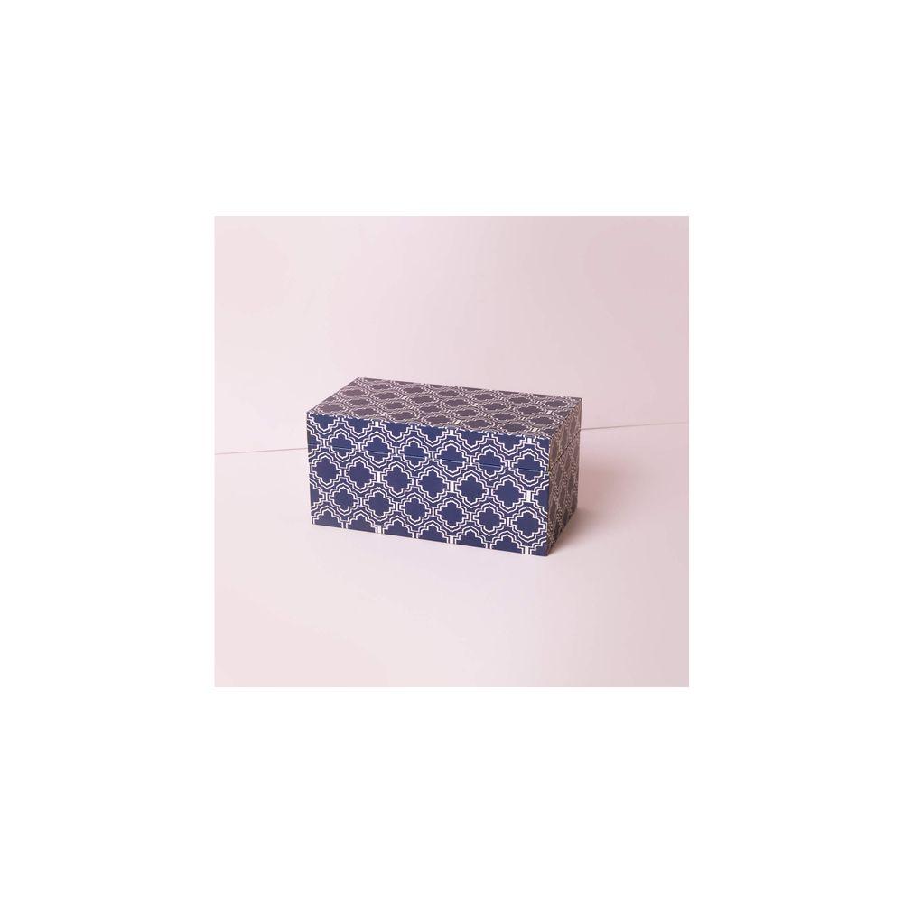 Caixa Dallas Cor: Azul - Tamanho: Único