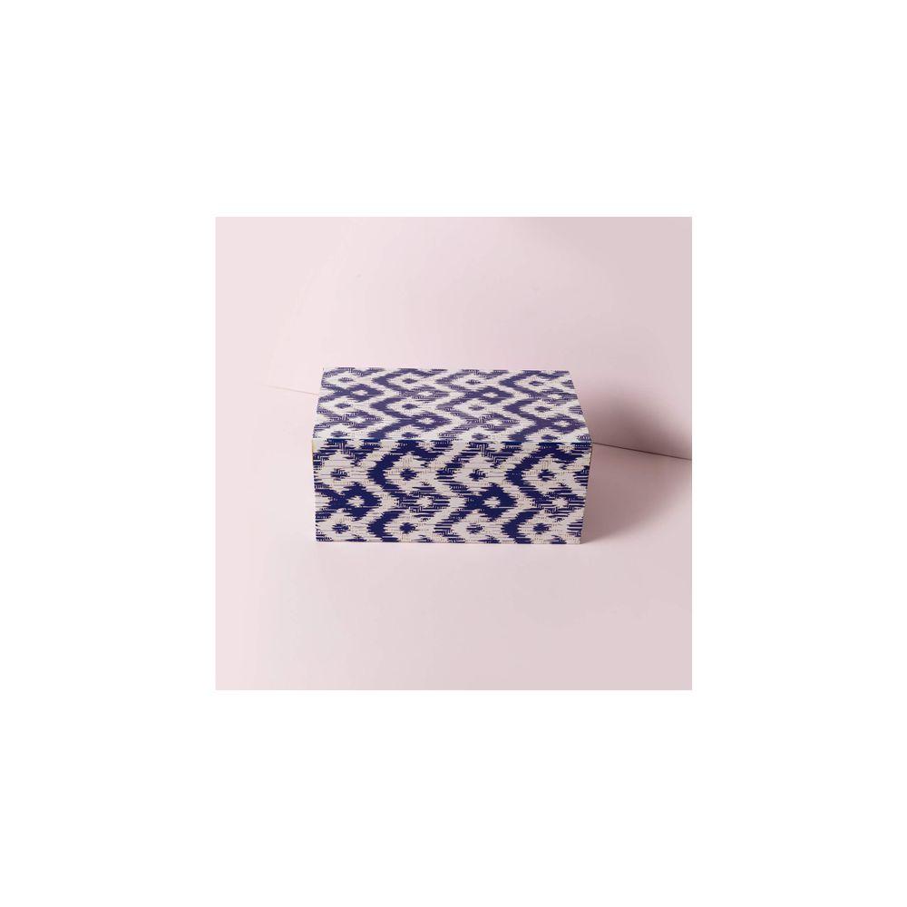 Caixa Austin Cor: Azul - Tamanho: Único