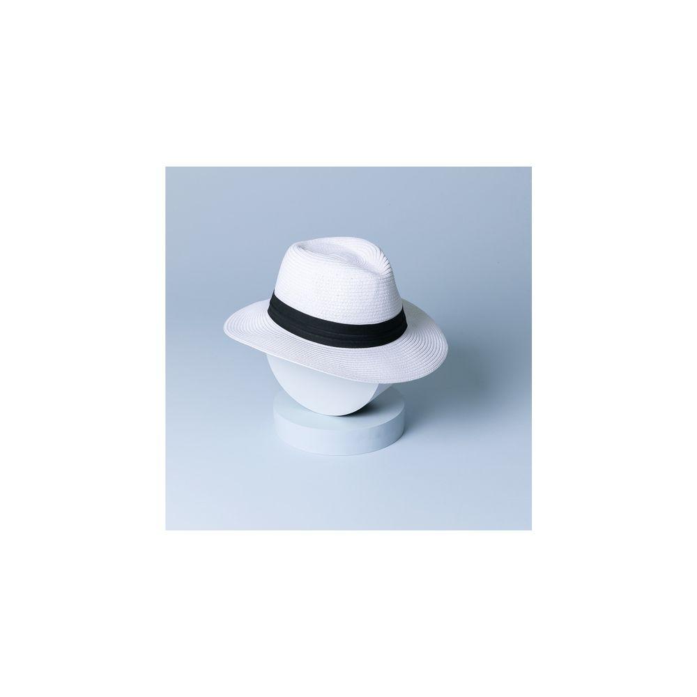 Chapéu Tavira Cor: Branco - Tamanho: Único