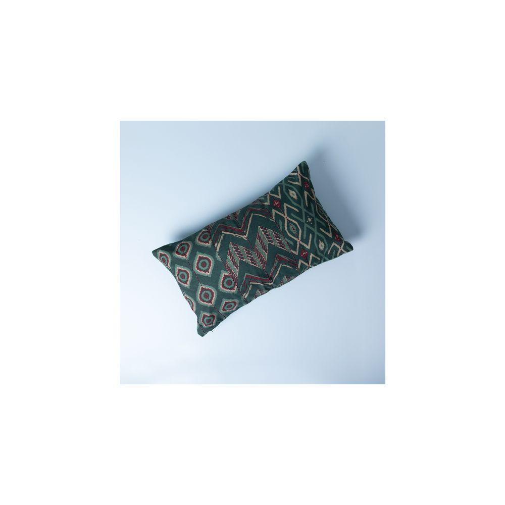 Capa De Almofada Montre Cor: Verde - Tamanho: Único