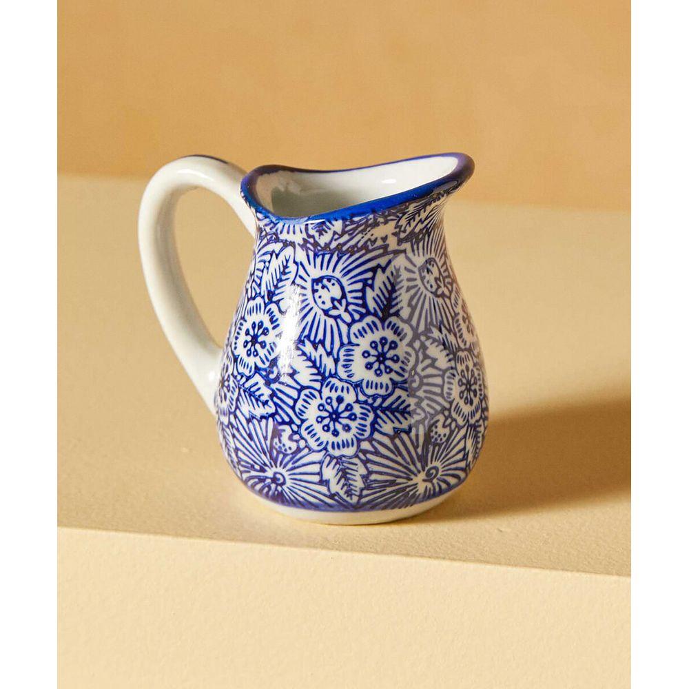 Decorativo Jinhua Jarra De Cerâmica Cor: Azul - Tamanho: Único