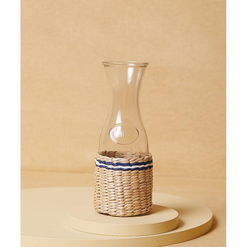 Decorativo Garrafa Florencia: Decorativo De Vidro Cor: Natural - Tamanho: Único