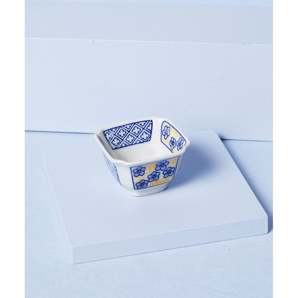 Bowl Decorativo Leshan: Decorativo De Porcelana Cor: Amarelo - Tamanho: Único