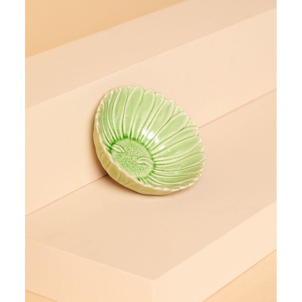 Bowl De Cerâmica Calama Cor: Verde - Tamanho: Único