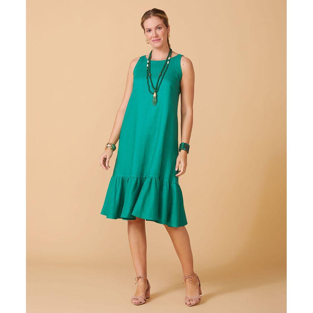 Vestido Brigitte New Cor: Verde - Tamanho: Pp