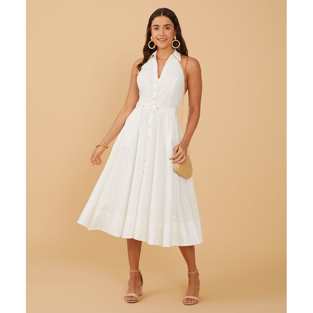 Vestido Peggy Cor: Off White - Tamanho: Pp