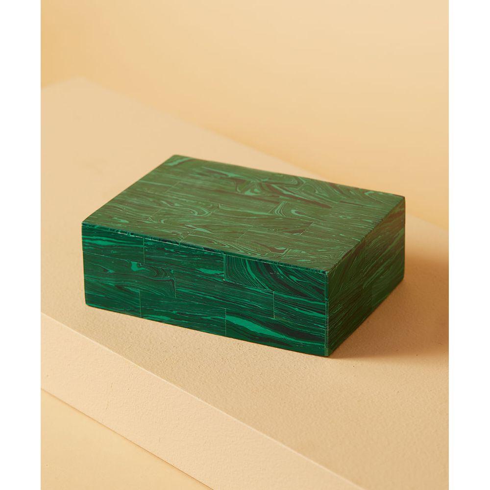 CAIXA DE MDF RETANGULA - CAIXA RANONG Cor: Verde - Tamanho: Único