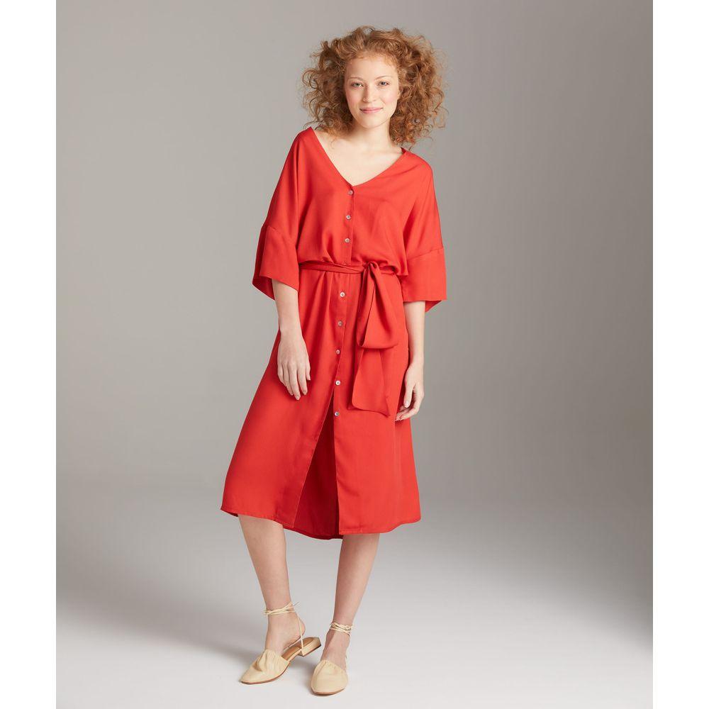 Vestido Yolanda Cor: Vermelho - Tamanho: 36