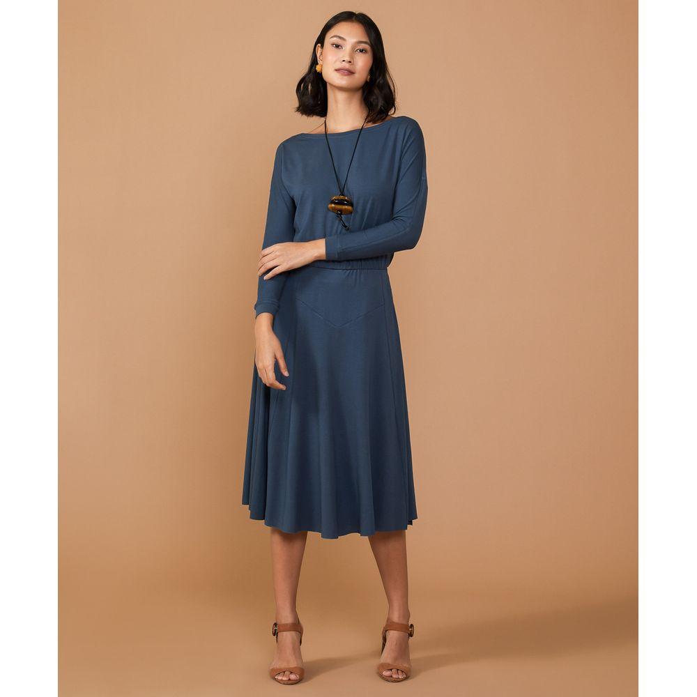 Vestido Marini Cor: Azul - Tamanho: Pp