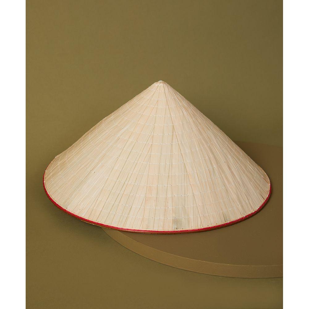 Chapéu Vietnam Cor: Natural - Tamanho: Único