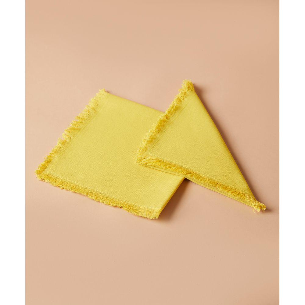 Guardanapo  Sabi Cor: Amarelo - Tamanho: Único